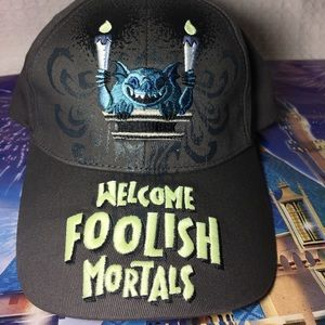 Disney parks haunted mansion youth hat foolish NEW